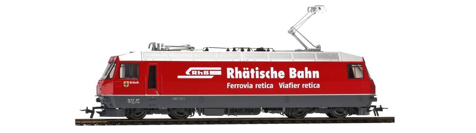 """1259167 RhB Ge 4/4 III 647 """"Rhätische Bahn"""" neurot-1"""