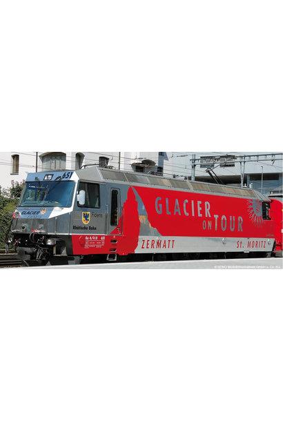 "RhB Ge 4/4 III 651 Werbelok ""Glacier on Tour"""
