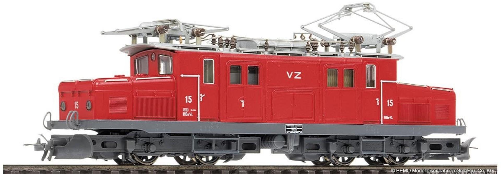 "1253535 BVZ HGe 4/4 15 ""Krokodil"" aktuell"