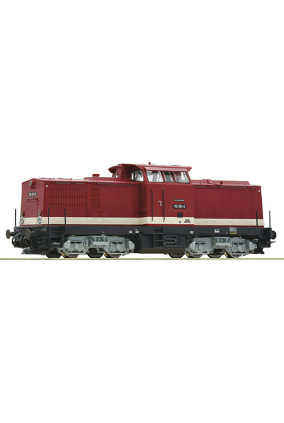 70810 diesellocomotief BR 110 van de DR DCC sound