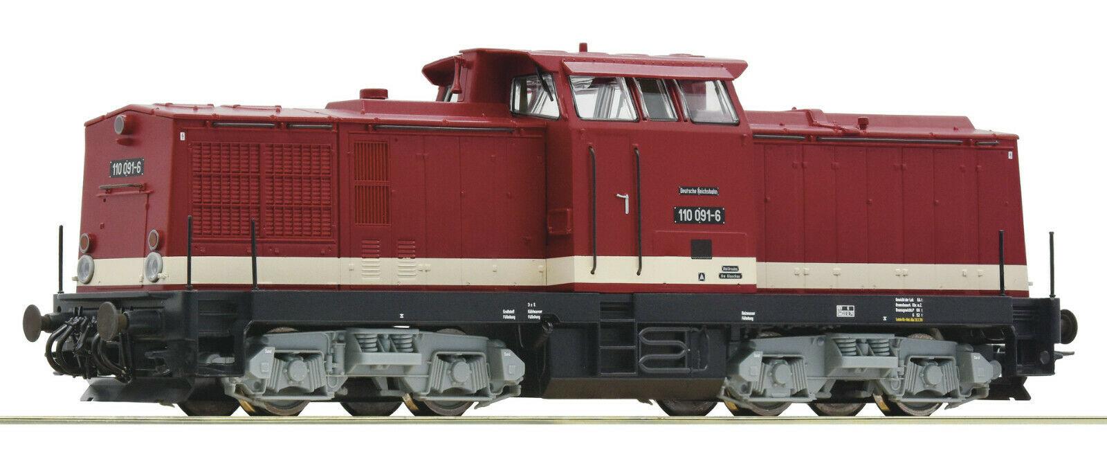 70810 diesellocomotief BR 110 van de DR DCC sound-1