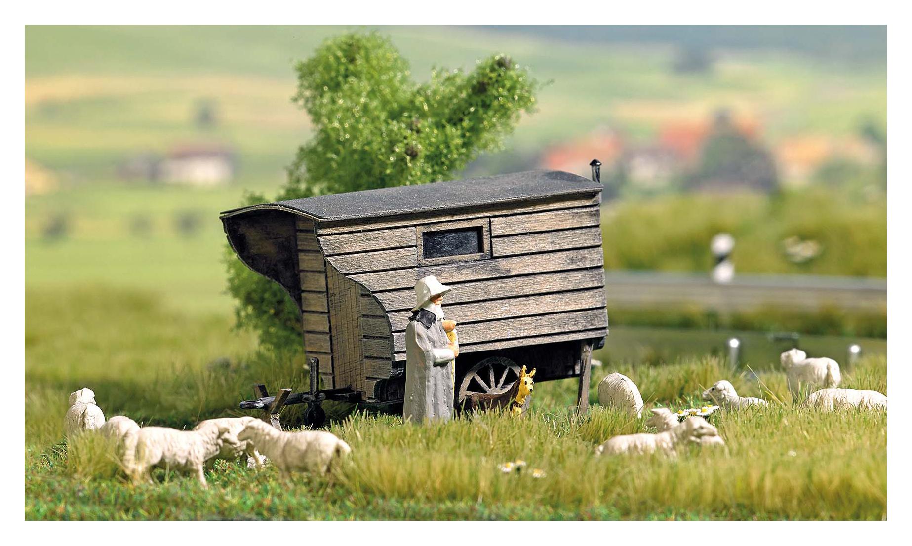 1981 Herderswagen, bouwpakket van echt hout-1
