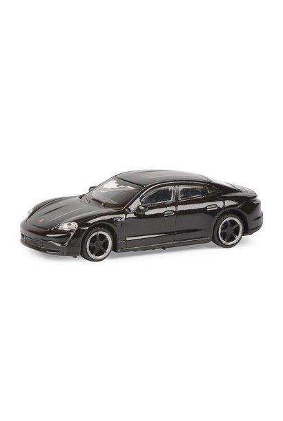 Porsche Taycan Turbo S (zwart)
