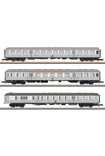 87189 Nahverkehrs-Wagenset Silberli