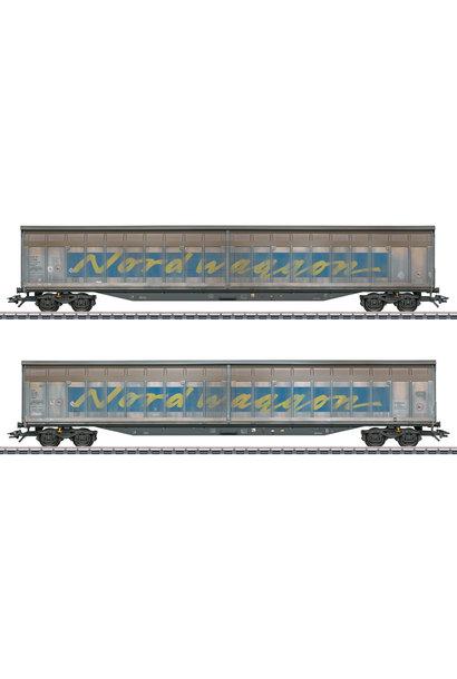 48065 Schiebewandwagen-Set Nordwagg