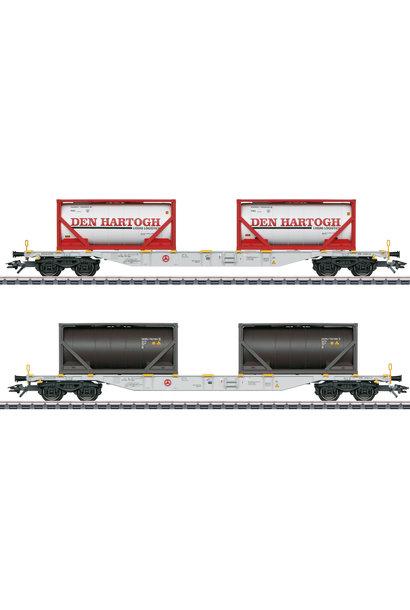 47137 Containerwagen-Set Den Hartog
