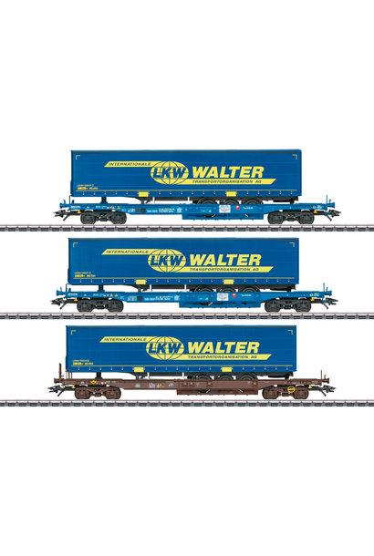 47120 Taschenwagen-Set LKW Walter