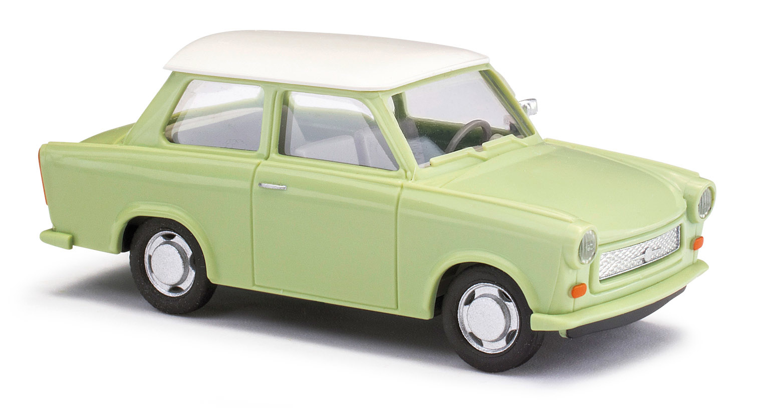 Trabant P601 Limousine, Grün/weißes Dach 53106-1