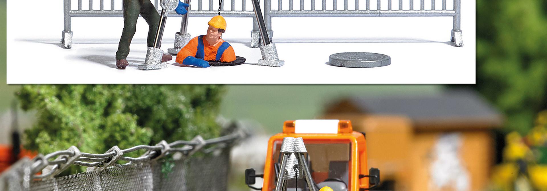 Busch Action-Set: Kanalarbeiter 7907