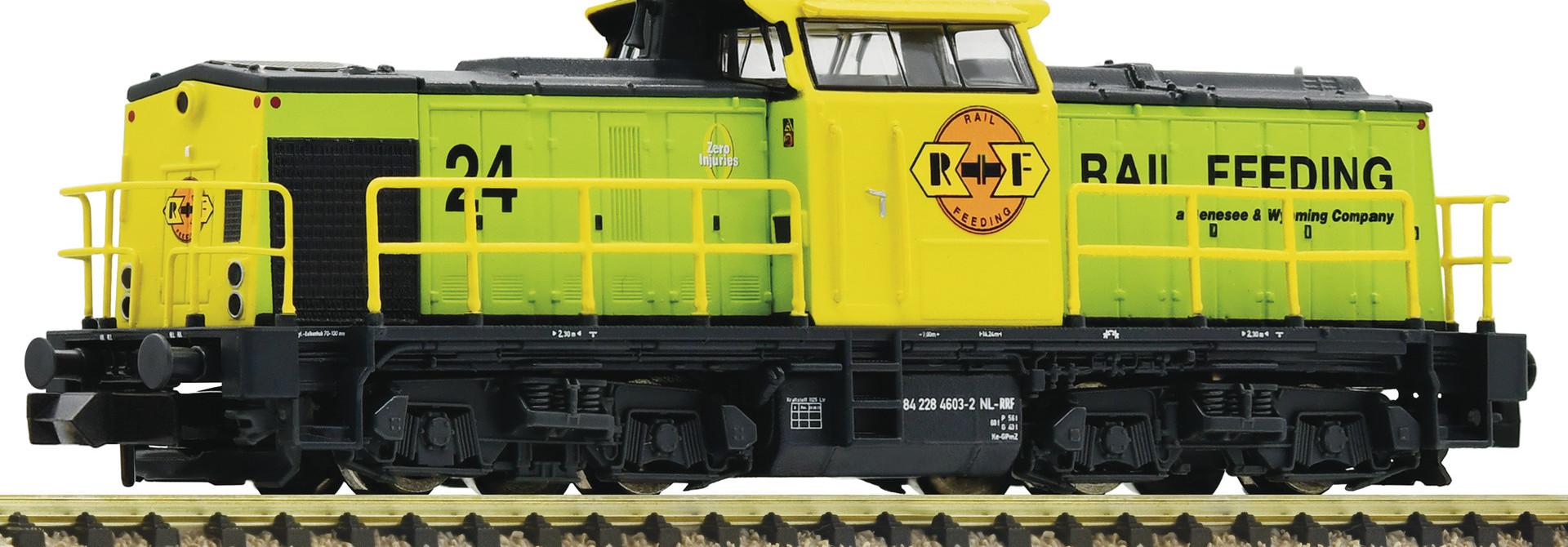 721015 diesellocomotief van de RRF Nederland
