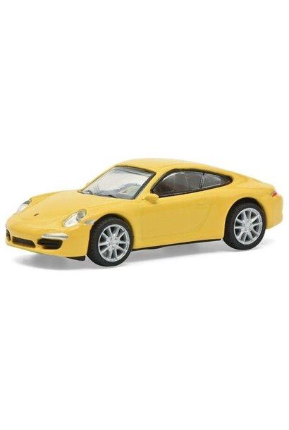 Porsche 911 (991) Carrera S, geel