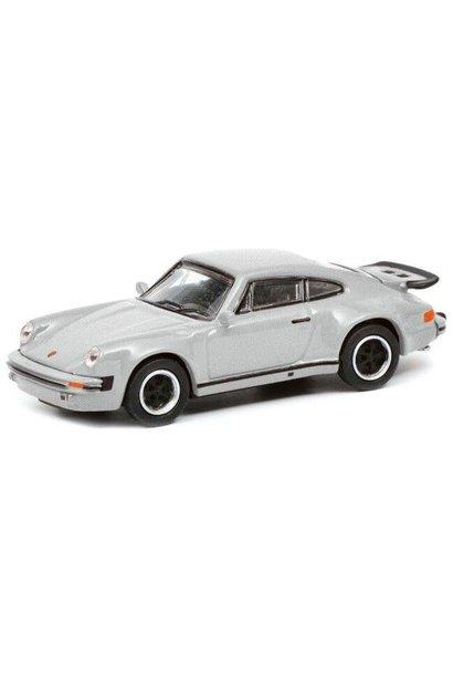 Porsche 911 (930) Turbo, zilver