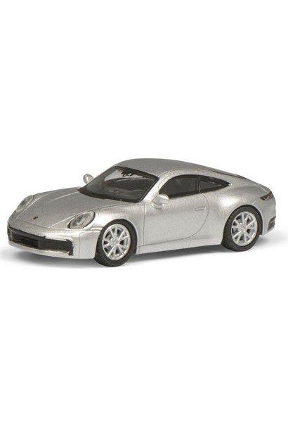 Porsche 911 (992) Carrera S Coupe, zilver