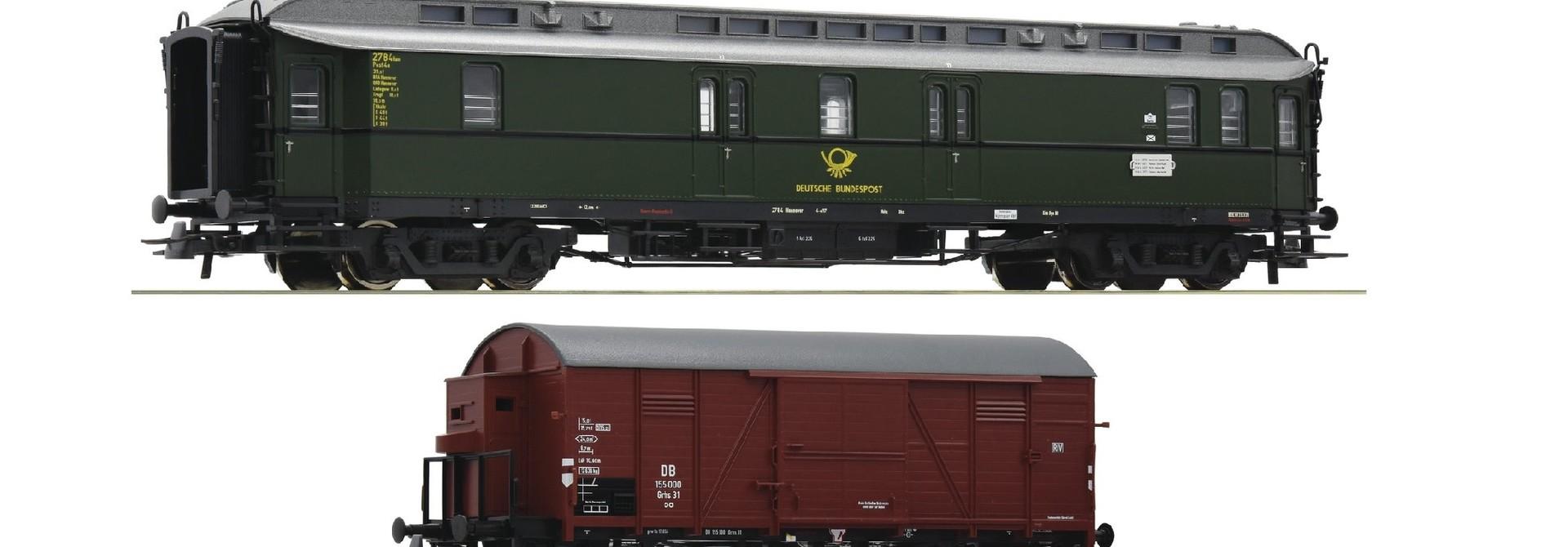 Treinset ''Posttrein Deutsche Bundesbahn''