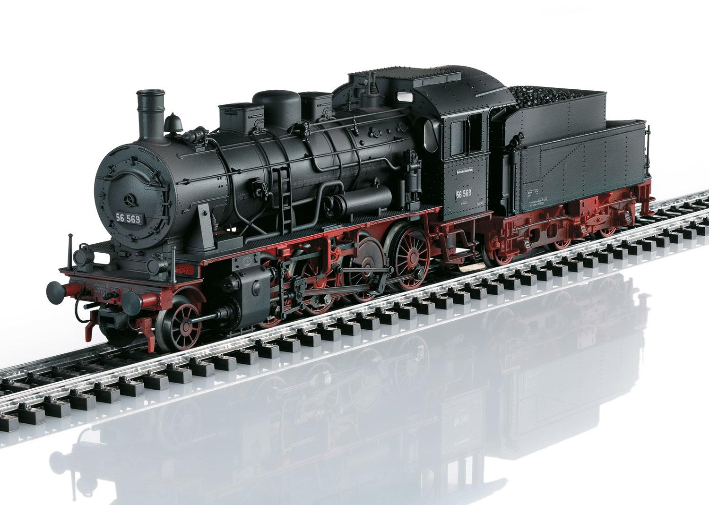 37516 Baureihe 56 van de DB geweatherd-1