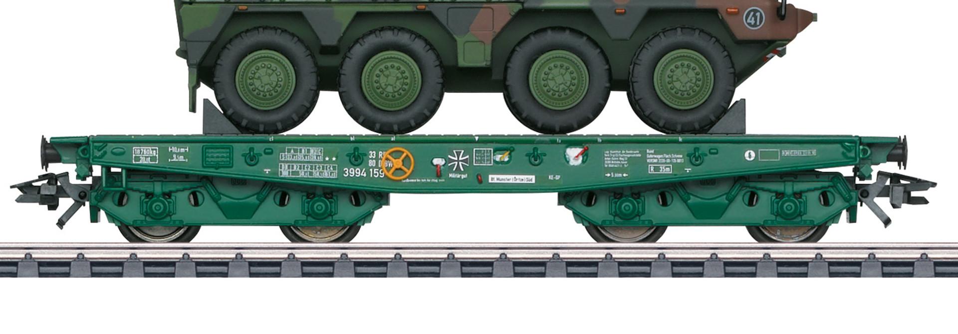 48790 zwaarlastwagen Rode Kruis Eurotrain exclusief