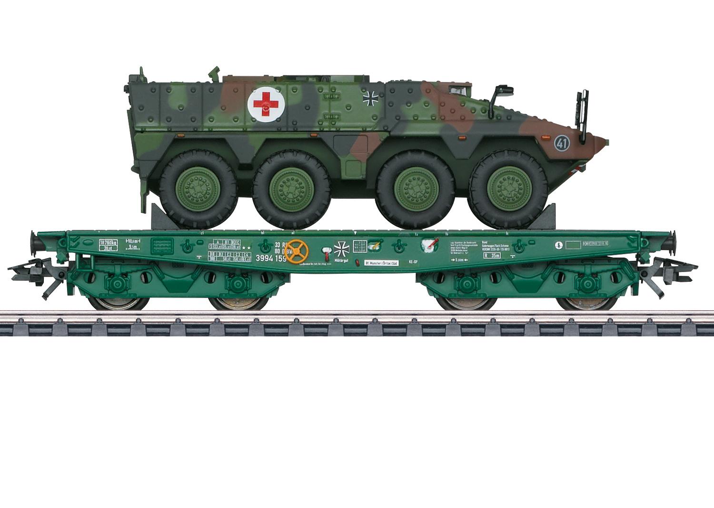 48790 zwaarlastwagen Rode Kruis Eurotrain exclusief-1