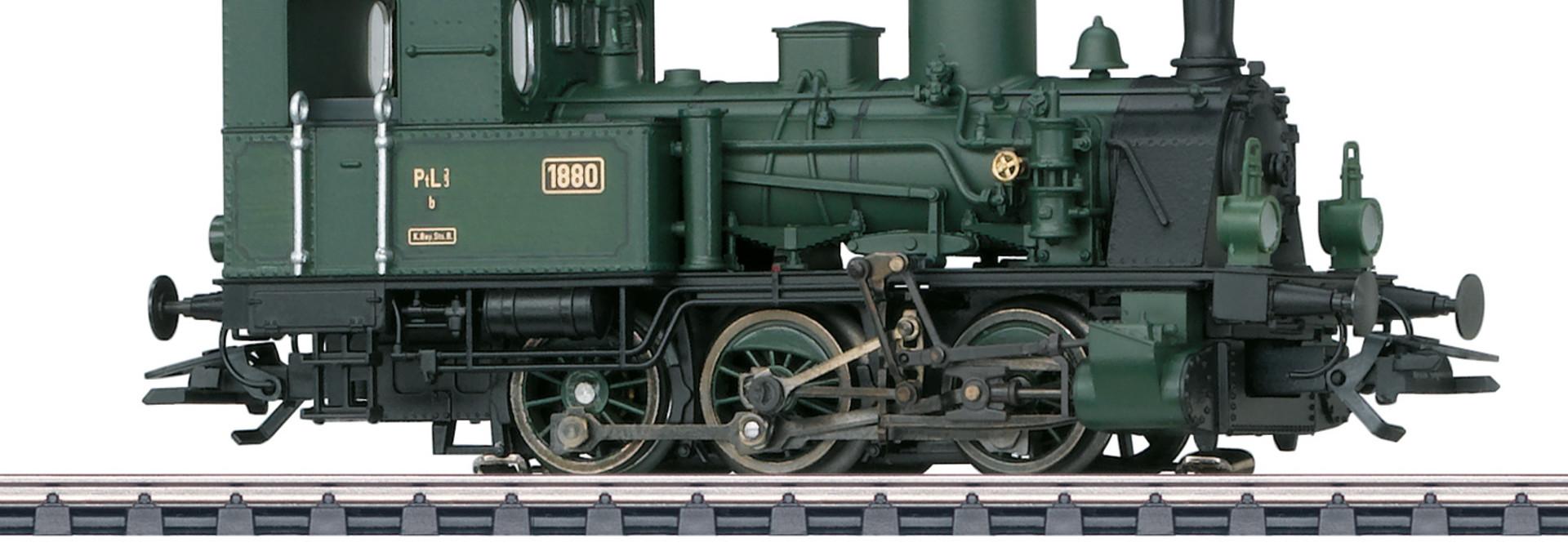 37189 stoomlocomotief T3 Eurotrain exclusief