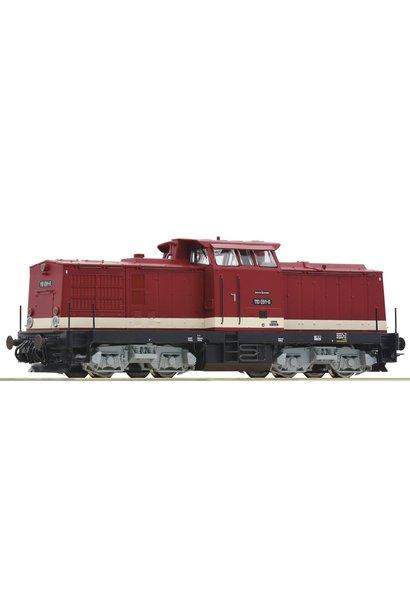 70810 Diesellok BR 110 DR HE-Snd.