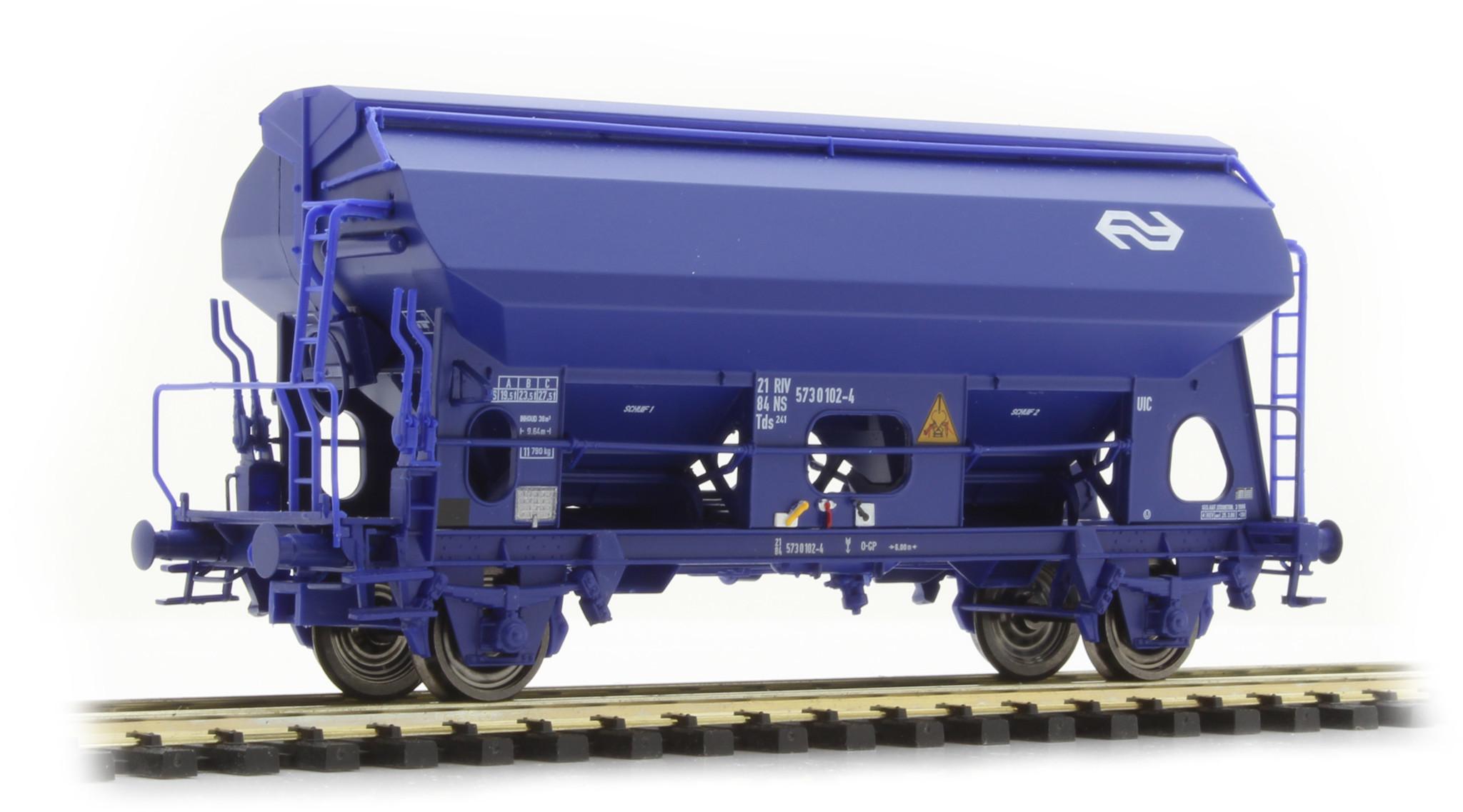 49528 Spoor H0 Klapdakwagen type Tds 241 van de NS, tijdperk IV-1