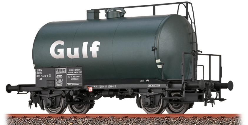 """50016 Spoor H0 Tankwagen Uh """"Golf"""" van de NS, tijdperk IV-1"""