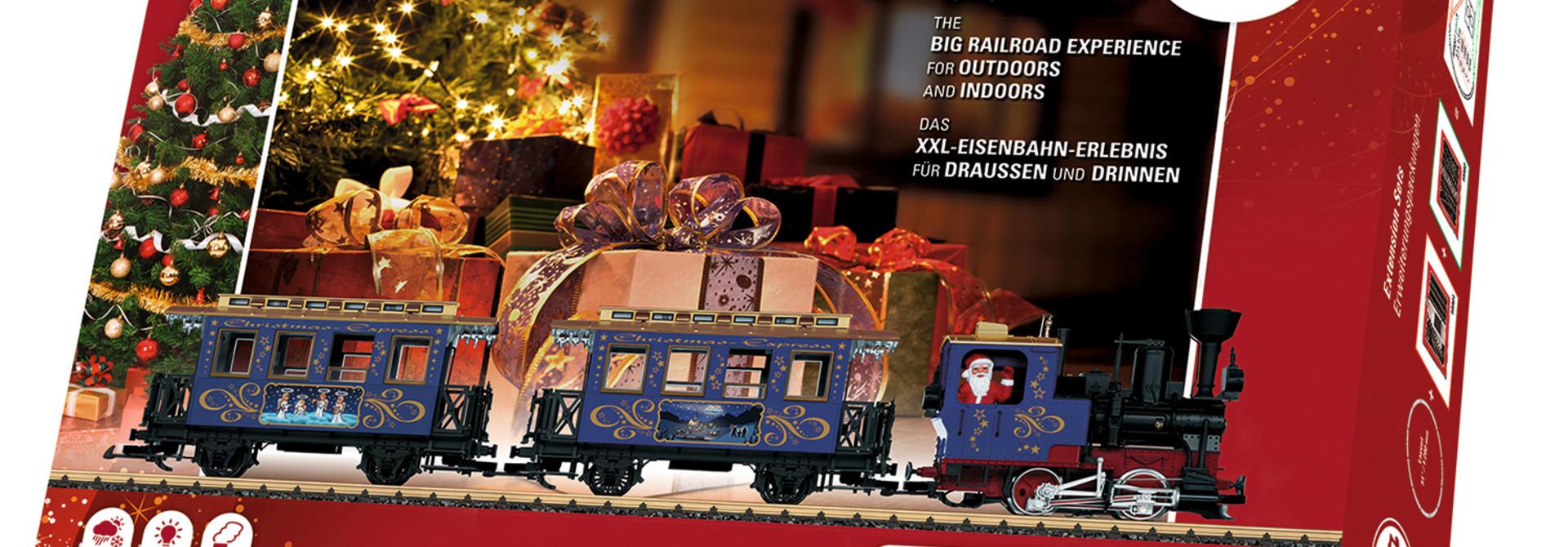 70350 startset Kersttrein