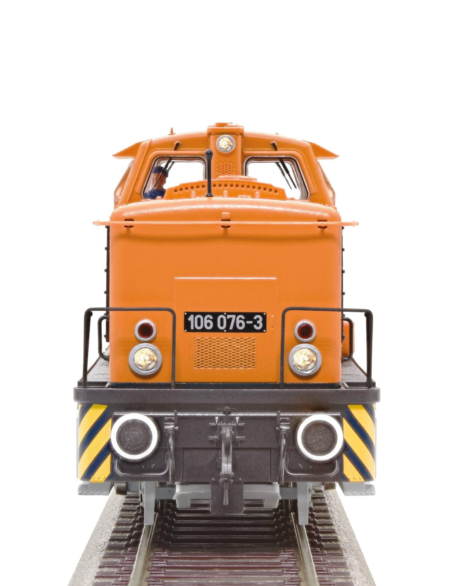 De Oost-Duitse Baureihe 106-1