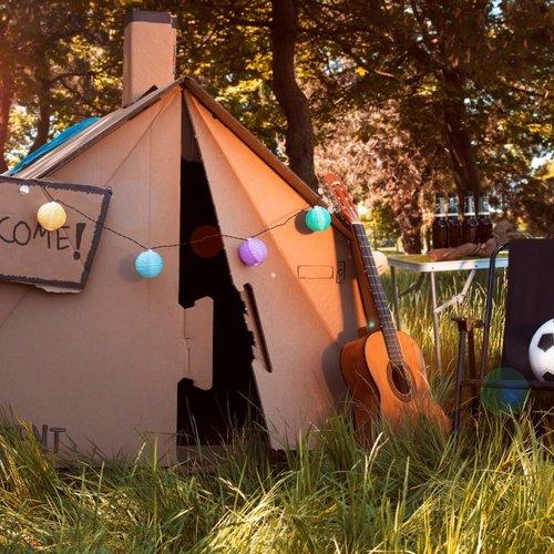 Cardboard Tents
