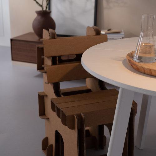 Cardboard Chairs & Cardboard Tables