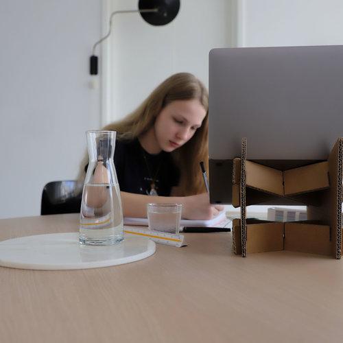 Cardboard Office Supplies
