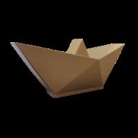 Bootje van papier voor De Grote Haay