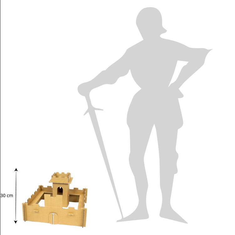 KarTent Kartonnen Mini Ridder Burcht