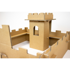 KarTent Cardboard Mini Knight's Fortress
