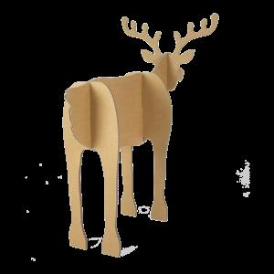 KarTent Cardboard Christmas Reindeer - Set of 2