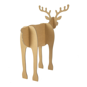 KarTent Set of 2 cardboard Reindeer