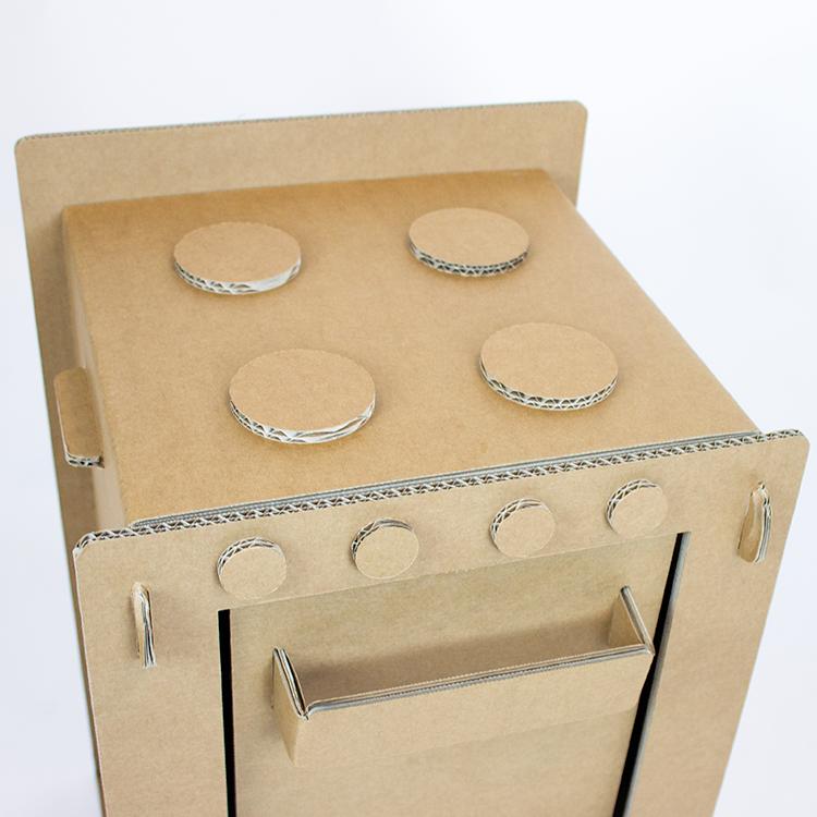 KarTent Cardboard Play Stove
