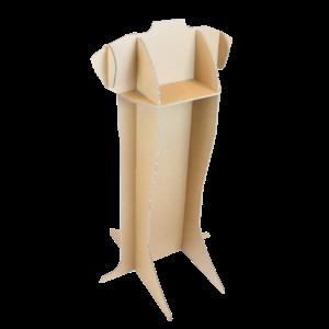 KarTent Kartonnen Paspop