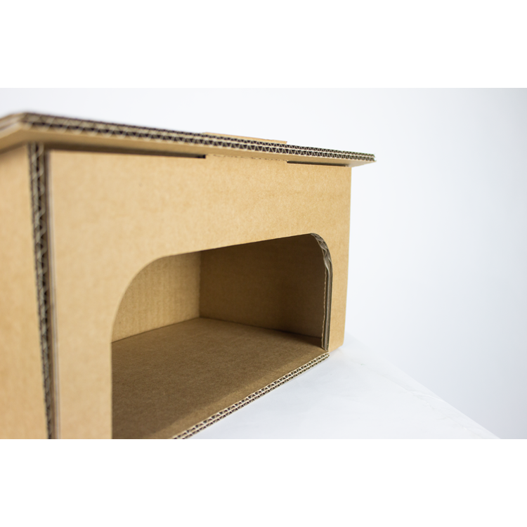 KarTent Cardboard Rodent  Play House for your Guinea Pig or Rabbit