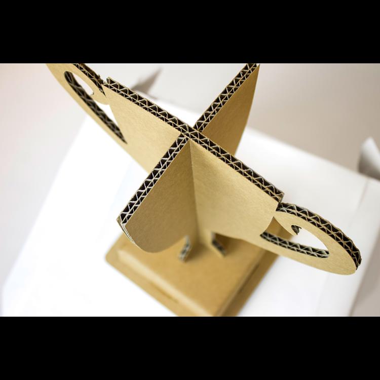 KarTent Set of 3 Cardboard Winner's Trophies