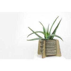 KarTent Cardboard Set of 3 Flower Pots