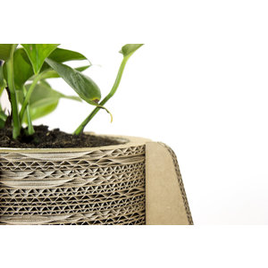 KarTent Cardboard Flower- and Plant Pot with Feet - Madelief