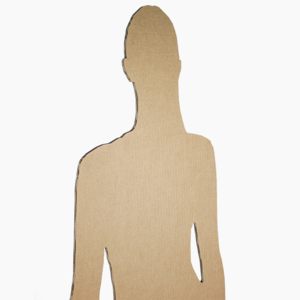 KarTent Lifesize Cardboard Figure - Standing
