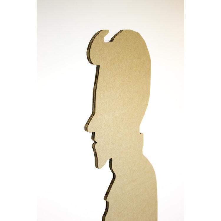 KarTent Lifesize Cardboard Figure - Distance Holder for Waiting Rooms / Restaurant Cafe