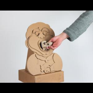 KarTent Cardboard Efteling Bin - Holle Bolle Gijs