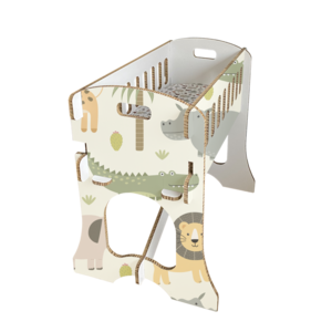 KarTent Babywieg - Papercrib Safari