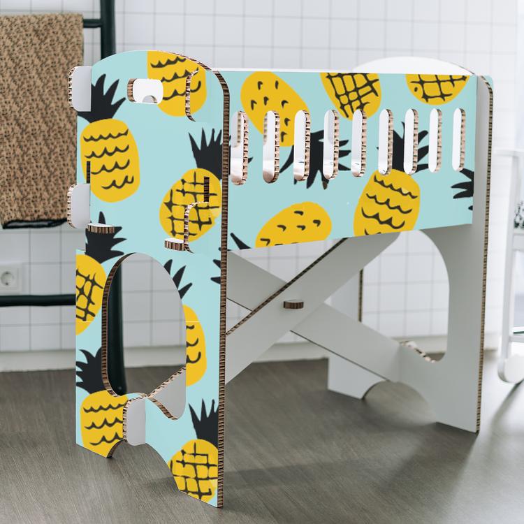 KarTent Baby Crib - Papercrib Pineapple