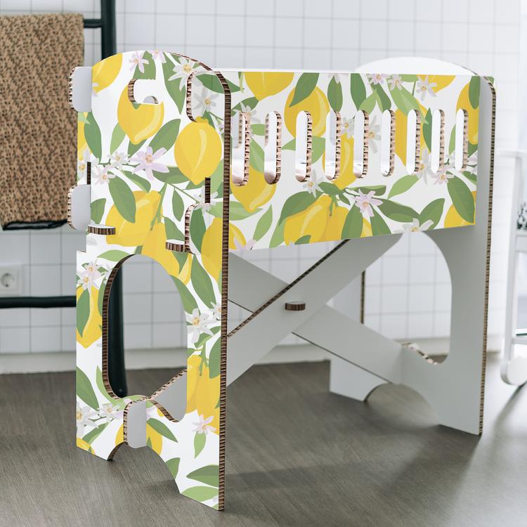 KarTent Baby Crib - Papercrib Lemon