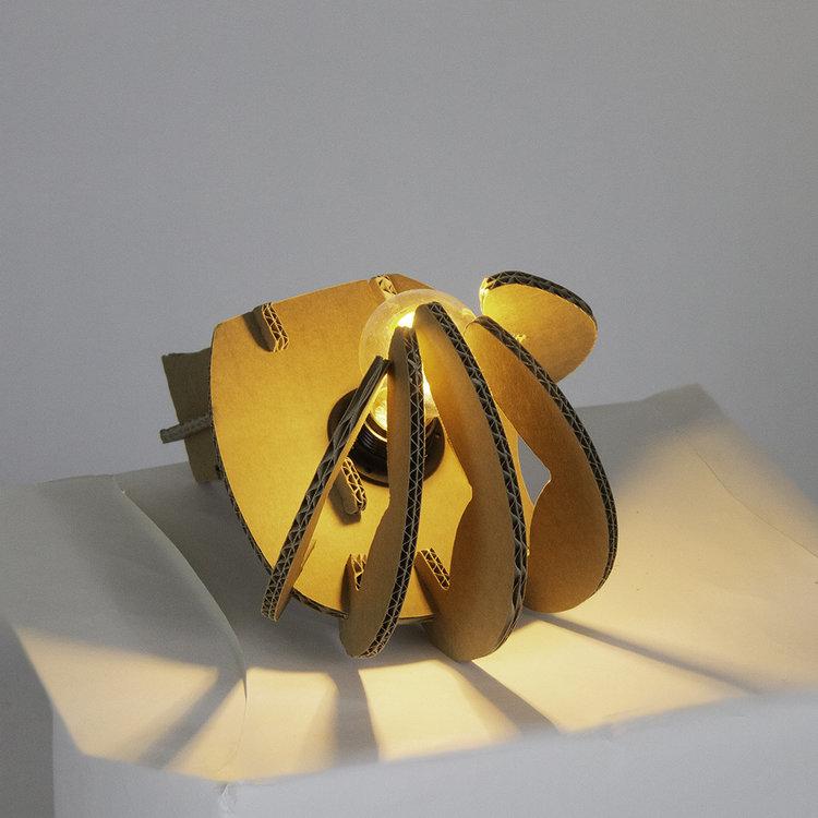 KarTent Kartonnen Geestmerambacht Lamp