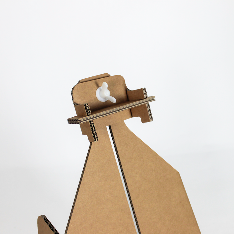 KarTent Kartonnen Schildersezel voor op Tafel