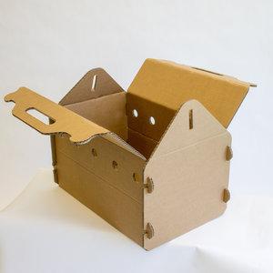 KarTent Cardboard Cat Travel Carrier
